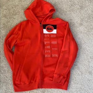 Quicksilver boys full zip hoodie
